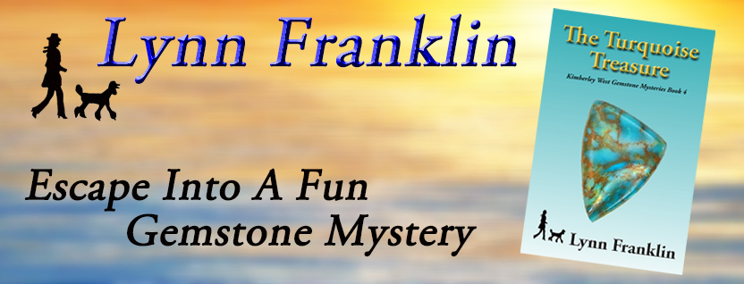 The Turquoise Treasure, Lynn Franklin, poodle mystery, cozy mystery, fun mystery