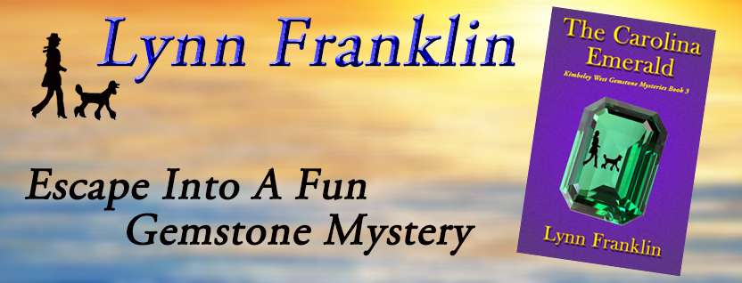 The Carolina Emerald, Lynn Franklin, cozy mystery, poodle mystery, fun mystery