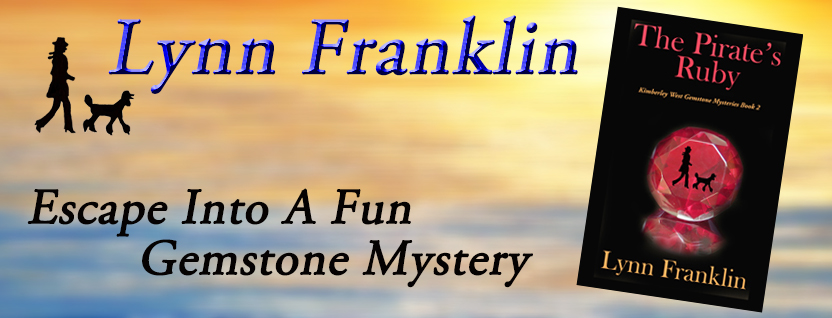 The Pirates Ruby, Lynn Franklin, poodle mystery, fun mystery, cozy mystery